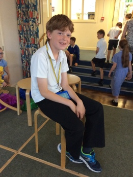 Well done Freddie for being nominated for a Random Act of Kindness. He has been thoughtful and welcoming to a new class member!