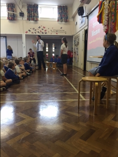 These children were recognised for their random acts of kindness this week.