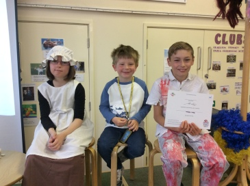 The children who demonstrated a Random Act of Kindness this week.