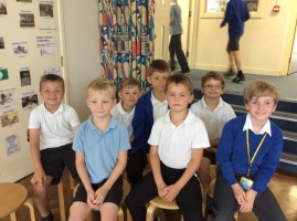 These children have been recognised this week for their Random Acts of Kindness. Well done boys!
