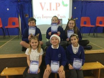 This week's very impressive pupils!