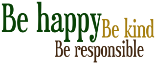 Happy Kind Responsible
