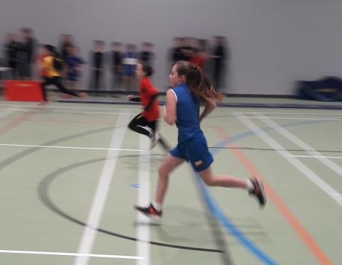 Primary Sports Hall Athletics event.