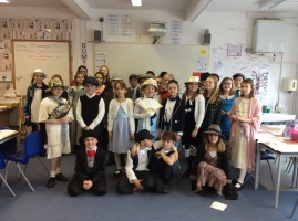 Years 4, 5 and 6 enjoying their Wow! Titanic Day