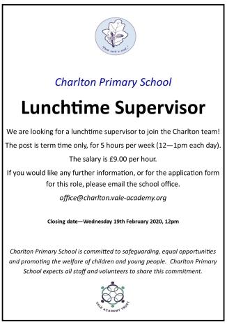Lunchtime supervisor advert V3